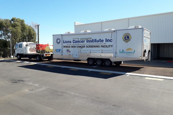 Lions Cancer Institute - Truck Photo