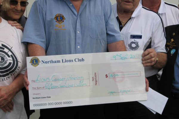 Northam Cheque