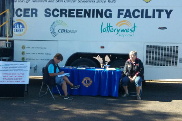 Waiting to be screened