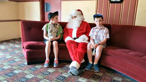 Santa + 2